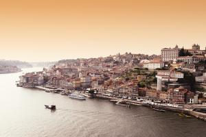 Welcome to Portugal Collection - View of Porto at Sunset by Philippe Hugonnard