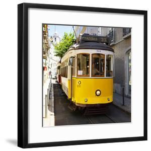 Welcome to Portugal Square Collection - Lisbon Tram 28 by Philippe Hugonnard