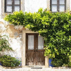 Welcome to Portugal Square Collection - Old Portuguese House facade by Philippe Hugonnard