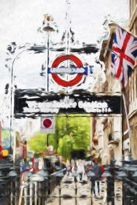 Westminster Station - In the Style of Oil Painting by Philippe Hugonnard