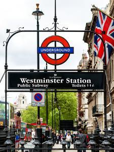 Westminster Station Underground - Subway Station - London - UK - England - United Kingdom - Europe by Philippe Hugonnard