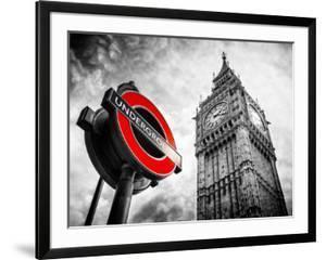 27b4a0b4cc2 Westminster Underground Sign - Subway Station Sign - Big Ben - City of  London - UK - England