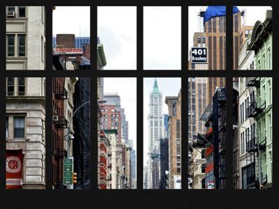 Window View - 401 Broadway - Manhattan - New York City by Philippe Hugonnard