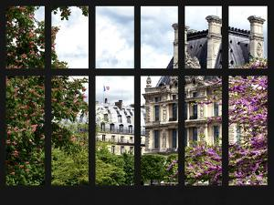Window View - Parisian Architecture in the Spring - Paris - Ile de France - France - Europe by Philippe Hugonnard