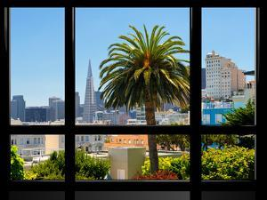 Window View, Special Series, Downtown, Transamerica Pyramid, San Francisco, California, US by Philippe Hugonnard
