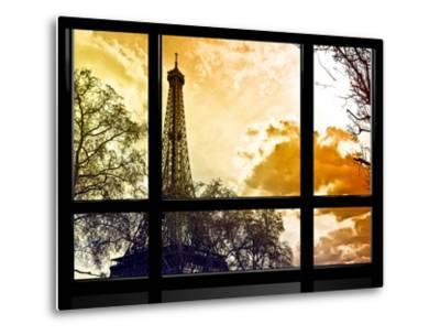 Window View, Special Series, Eiffel Tower at Sunset, Paris, France, Europe