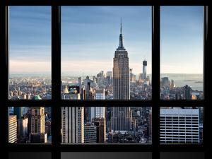 Window View, Special Series, Empire State Building, Manhattan, New York, United States by Philippe Hugonnard