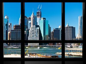Window View, Special Series, Financial District, Manhattan, New York City, United States by Philippe Hugonnard