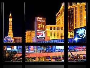 Window View, Special Series, Strip, Resort Casinos Hotels, Las Vegas, Nevada, United States by Philippe Hugonnard