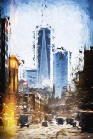 World Trade - In the Style of Oil Painting by Philippe Hugonnard