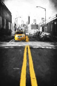 Yellow Lines by Philippe Hugonnard
