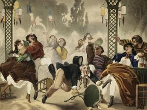 """Musée de moeurs en actions. """"c'est bien fait ! fallait pas qu'il y aille!"""" by Philippe Jacques Linder"""