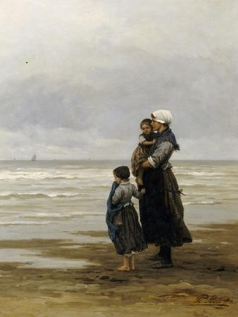 Waiting for the Boats, 1881