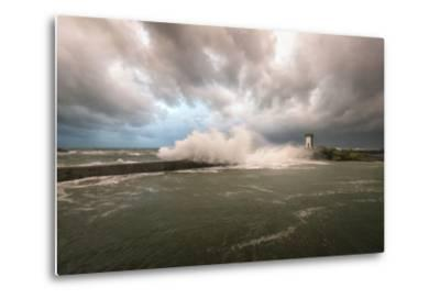 Bretagne, Sea Wall by Philippe Manguin