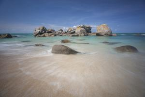 Brignogan Beach in Bretagne by Philippe Manguin
