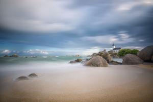 Brignogan in Brittany by Philippe Manguin