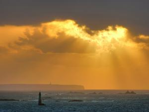 Cape Frehel, Bretagne, France by Philippe Manguin