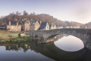 Dinan, the old bridge. by Philippe Manguin