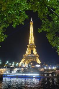 Eiffel Tower at Night by Philippe Manguin