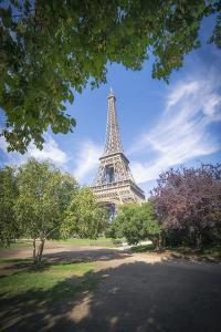 Eiffel tower Green garden by Philippe Manguin