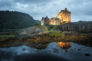 Eilean Donan Castle In Scotland by Philippe Manguin