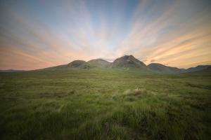 Glencoe Valley Scotland by Philippe Manguin