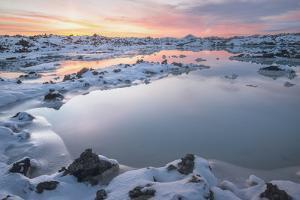Iceland Blue Lagoon by Philippe Manguin