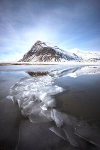 Iceland Ice Lake by Philippe Manguin
