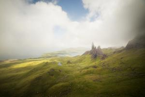 Isle Of Skye Old Man Of Storr In Scotland by Philippe Manguin