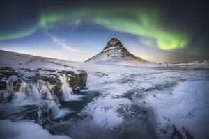 Kirkjufell Aurora by Philippe Manguin