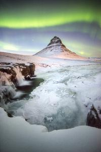 Kirkjufell Green Arch by Philippe Manguin