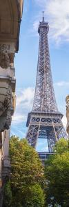Paris Eiffel tower vertical Panoramic by Philippe Manguin