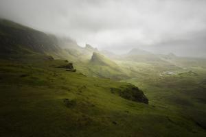 Quiraing Skye Island Scotland by Philippe Manguin
