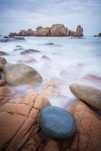 Rock Beach on Brehat Island 3 by Philippe Manguin