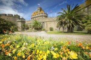 Saint Malo Castle In Bretagne by Philippe Manguin