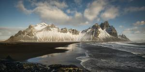 Stokksnes Mountain And Beach by Philippe Manguin