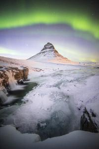 The Kirkjufell Green Arch by Philippe Manguin