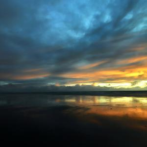 Vendée Sunset by Philippe Manguin