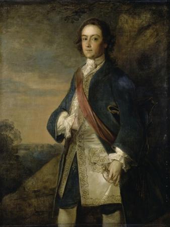 Portrait d'un officier anglais by Philippe Mercier