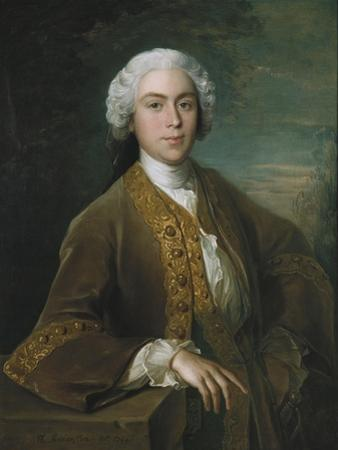 Portrait of Lord Trimelston, 1744 by Philippe Mercier