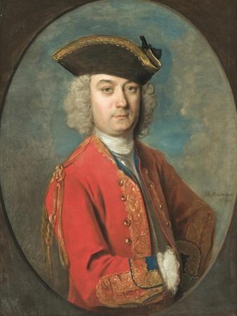 Portrait of Louis De Jean by Philippe Mercier