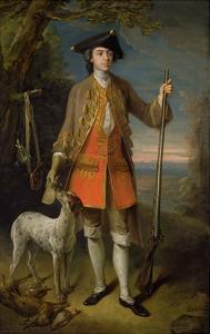 Sir Edward Hales, 1744 by Philippe Mercier