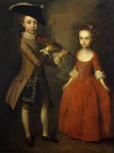 The Archbold Children by Philippe Mercier