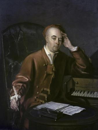 The Composer Handel by Philippe Mercier