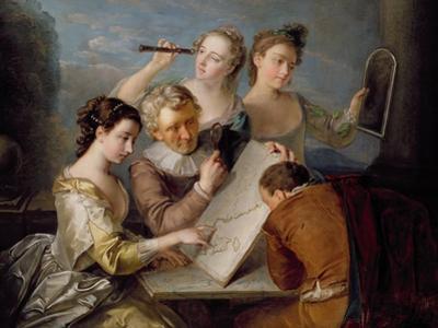 The Sense of Sight, c.1744-47 by Philippe Mercier