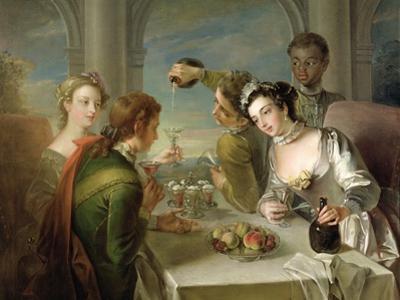 The Sense of Taste, c.1744-47 by Philippe Mercier
