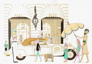 Hôtel Ritz à Paris by Philippe Noyer