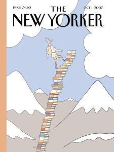 The New Yorker Cover - October 1, 2007 by Philippe Petit-Roulet
