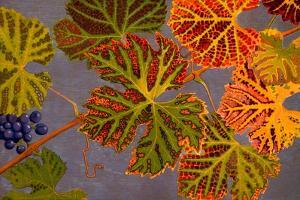 Vine Leaves and Ripened Grapes, 1907-09 by Philippe Robert