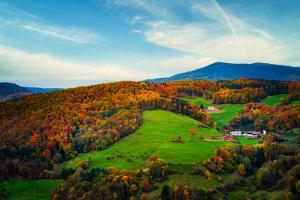 Autumn colors in the Vosges by Philippe Saint-Laudy